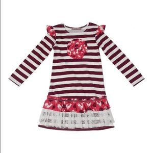 Just In! NWT Jelly the Pug Elsa Folk Art Dress 2T
